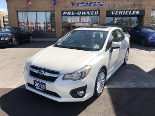 Used 2013 Subaru Impreza 4dr Sdn CVT 2.0i w-Limited Pkg-NAVI-B UP CAM for sale in North York, ON