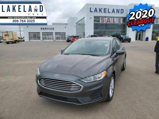 New 2020 Ford Fusion SE FWD  -  SiriusXM - $187 B/W for sale in Prince Albert, SK