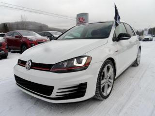 Used 2017 Volkswagen Golf GTI Autobahn nav.toit 1proprietaire for sale in Val-David, QC