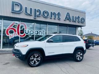 Used 2017 Jeep Cherokee Ensemble L Plus 4 portes 4RM for sale in Alma, QC