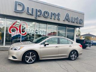 Used 2015 Subaru Legacy 3.6R groupe Limited berline 4 portes CVT for sale in Alma, QC