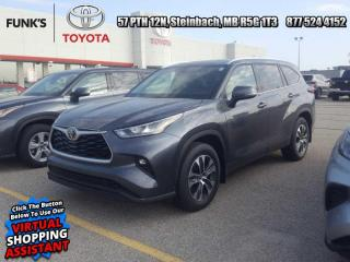 New 2020 Toyota Highlander XLE   - Power Moonroof -  Power Liftgate- Includes a set (4) Michelin X-Ice Snow Tires    $1140 Value for sale in Steinbach, MB