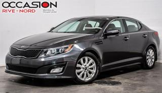 Used 2015 Kia Optima EX CUIR+MAGS+SIEGES.CHAUFFANTS for sale in Boisbriand, QC
