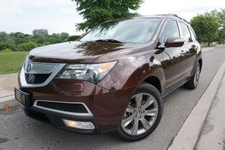 Used 2010 Acura MDX ELITE / NO ACCIDENTS / RARE COLOUR / 7 PASS / DVD for sale in Etobicoke, ON
