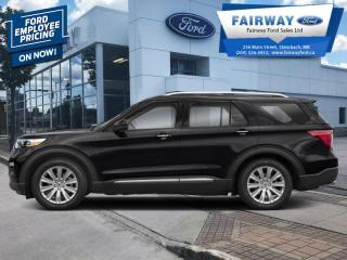 New 2020 Ford Explorer XLT  - Sunroof for sale in Steinbach, MB
