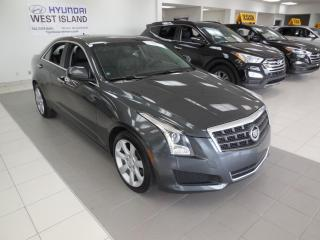 Used 2014 Cadillac ATS 2.0T AWD AUTO MAGS CAMÉRA CUIR A/C BT CR for sale in Dorval, QC