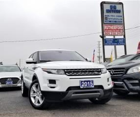 Used 2015 Land Rover Range Rover Evoque No accidents |Pure Premium | AWD | NAV|DVD|Loaded for sale in Brampton, ON