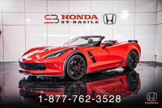 Used 2017 Chevrolet Corvette GRAND SPORT + 3LT + CAB + NAVI + WOW! for sale in St-Basile-le-Grand, QC
