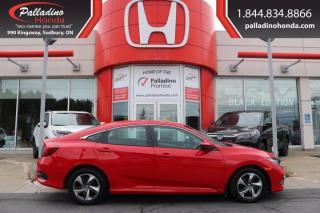 Used 2019 Honda Civic Sedan LX-CERTIFIED-LIKE NEW-LOW KM for sale in Sudbury, ON