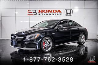 Used 2015 Mercedes-Benz CLA-Class CLA45 AMG + 4MATIC + NAVI + TOIT + WOW! for sale in St-Basile-le-Grand, QC