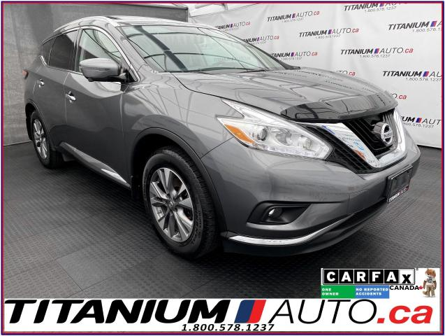 2017 Nissan Murano SL+AWD+GPS+360 Camera+Pano Roof+Apple Play+Leather