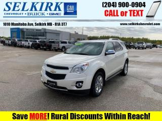 Used 2014 Chevrolet Equinox LTZ  *LOADED, LEATHER, NAV* for sale in Selkirk, MB