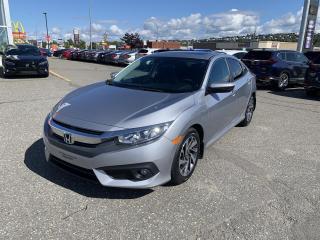 Used 2017 Honda Civic EX 4 portes CVT for sale in Rivière-Du-Loup, QC