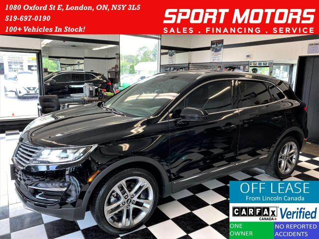 2016 Lincoln MKC Reserve+Cooled Seats+Lane Assist+ACCIDENT FREE
