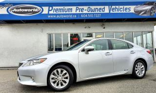 Used 2013 Lexus ES 300 *Hybrid, Tech Package, Navigation* for sale in Langley, BC