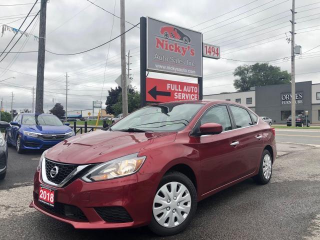 2018 Nissan Sentra SV - AUTO - BACKUP CAMERA - HEATED SEATS -LOW KMS!