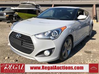 Used 2013 Hyundai Veloster Turbo 3D COUPE 1.6L for sale in Calgary, AB