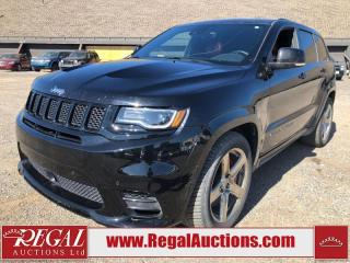 Used 2017 Jeep Grand Cherokee SRT 4D Utility 4WD 6.4L for sale in Calgary, AB