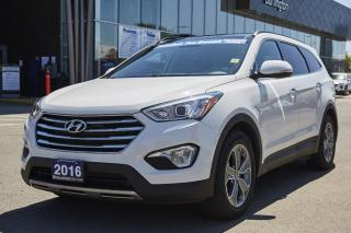 Used 2016 Hyundai Santa Fe XL | LUXURY | ONE OWNER | TEST DRIVE AVAILABLE | for sale in Burlington, ON