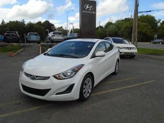 Used 2015 Hyundai Elantra GL for sale in Ottawa, ON