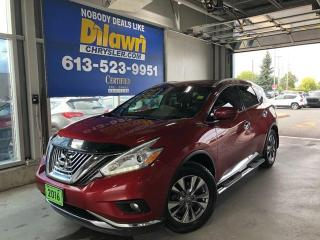 Used 2016 Nissan Murano SL AWD Platinum for sale in Nepean, ON