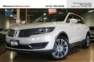 Used 2016 Lincoln MKX RESERVE - MASSAGE|ACC|LANEKEEP|BLINDSPOT|NAVI for sale in North York, ON