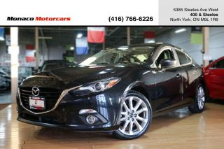 Used 2014 Mazda MAZDA3 GT-SKY - HEADS UP|SUNROOF|NAVIGATION|BACKUP for sale in North York, ON