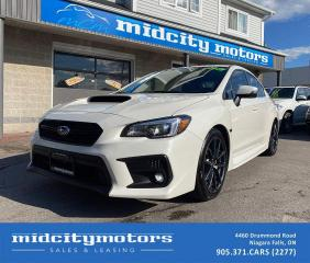 Used 2018 Subaru WRX Limited Sport-tech AWD | 3-Year Extended Warranty! for sale in Niagara Falls, ON