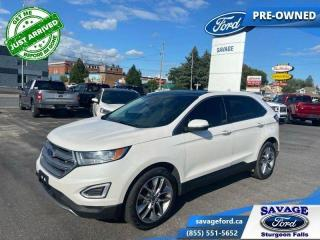 Used 2018 Ford Edge Titanium  - One owner - Trade-in - $214 B/W for sale in Sturgeon Falls, ON