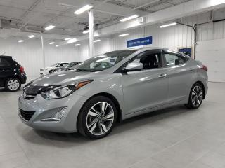 Used 2015 Hyundai Elantra GLS - CAMERA + TOIT + SIEGES CHAUFFANTS !!! for sale in Saint-Eustache, QC