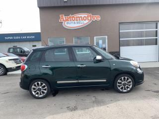 Used 2015 Fiat 500 L Lounge for sale in Stettler, AB