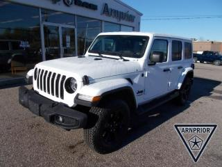 New 2021 Jeep Wrangler Unlimited Sahara Altitude for sale in Arnprior, ON