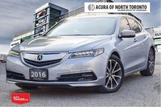 Used 2016 Acura TLX 3.5L SH-AWD w/Tech Pkg Remote Start| Navigation for sale in Thornhill, ON
