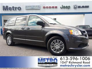 Used 2016 Dodge Grand Caravan SXT  Stow 'N Go  Low KMs for sale in Ottawa, ON