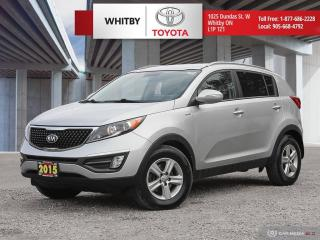 Used 2015 Kia Sportage LX for sale in Whitby, ON