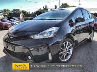 Used 2017 Toyota Prius V LUXURY & TECH PACK  LEATHER  DUAL ROOF  NAVI for sale in Ottawa, ON