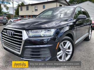 Used 2017 Audi Q7 3.0T Technik S-LINE  LEATHER  NAVI  BLIS  BOSE  BA for sale in Ottawa, ON