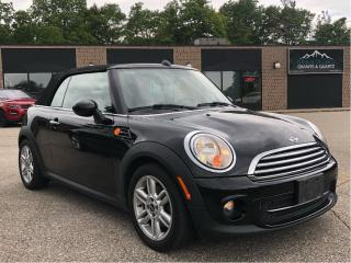 Used 2014 MINI Cooper Convertible for sale in Paris, ON