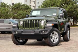 New 2021 Jeep Wrangler Sport S 4x4 for sale in Waterloo, ON