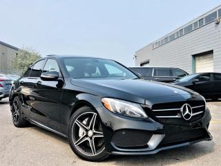 Used 2017 Mercedes-Benz C 300 |4MATIC|PANORAMIC|HEATED MEMORY SEATS|NAVI|REAR VIEW CAM! for sale in Brampton, ON