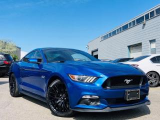 Used 2017 Ford Mustang GT PREMIUM|ADAPTIVE CRUISE|BACKUP SENSORS|NAVI|MEMORY SEATS! for sale in Brampton, ON
