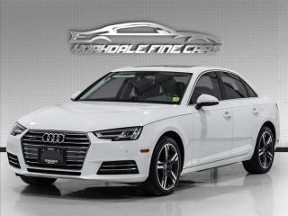 Used 2017 Audi A4 Technik Quattro Navi, Cam, Bang & Olufsen Sound, Blind Spot for sale in Concord, ON