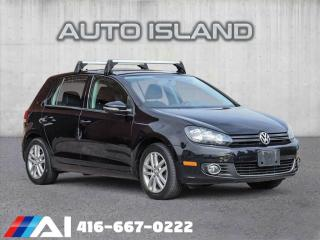 Used 2011 Volkswagen Golf LEATHER**SUNROOF**SPORTY 5SPD MANUAL!! for sale in North York, ON