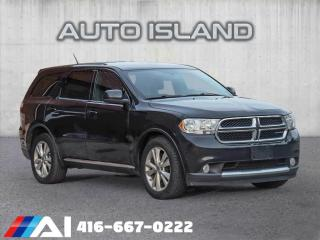 Used 2013 Dodge Durango ALL WHEEL DRIVE**7PASS** for sale in North York, ON