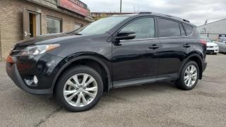 Used 2013 Toyota RAV4 AWD 4dr Limited Leather, Nav $216 Bi-Weekly for sale in Calgary, AB