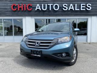 Used 2014 Honda CR-V AWD|EX-L|LEATHER|SUNROOF|BACK-UP CAMERA for sale in Richmond Hill, ON