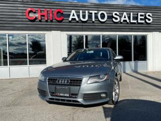 Used 2011 Audi A4 Quattro AWD 2.0T|ACCIDENT FREE|PREMIUM PLUS for sale in Richmond Hill, ON