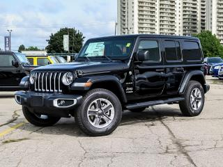 New 2021 Jeep Wrangler Unlimited Sahara | Nav | Blind Spot | Dual Tops for sale in Kitchener, ON