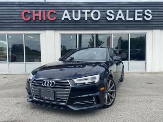 Used 2017 Audi A4 TECHNIK|S-LINE|QUATTRO|WARRANTY|FULLY LOADED for sale in Richmond Hill, ON