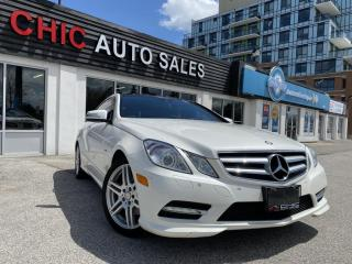 Used 2012 Mercedes-Benz E-Class E350|AWD|2DR|COUPE|4MATIC|ACCIDENT FREE for sale in Richmond Hill, ON
